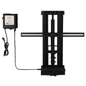 Monitor mounts ship free for Motorized flat screen tv lift